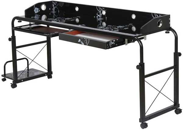 Grande Table de lit pour ordinateur