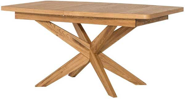 Table en bois extensible