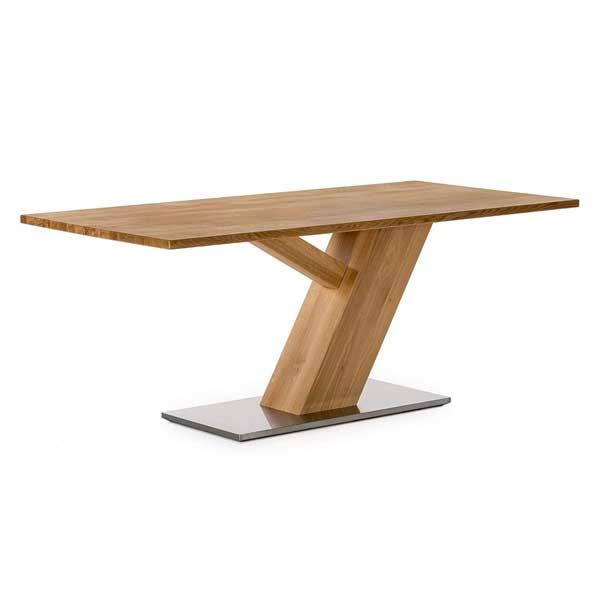 Table en bois massif de chêne