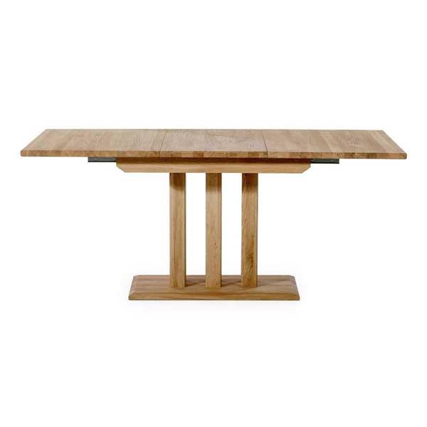 Table en bois de chêne extensible