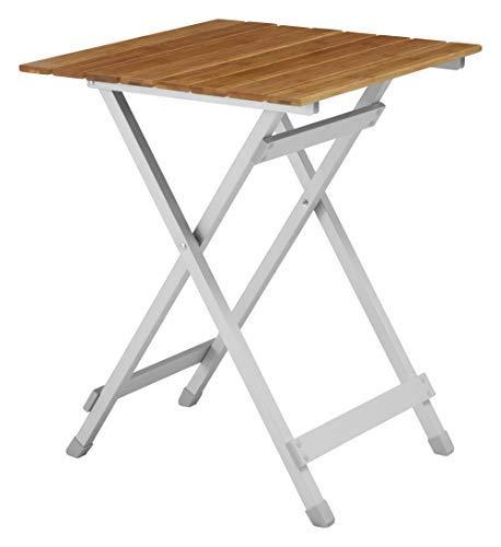 Petite table de jardin pliable