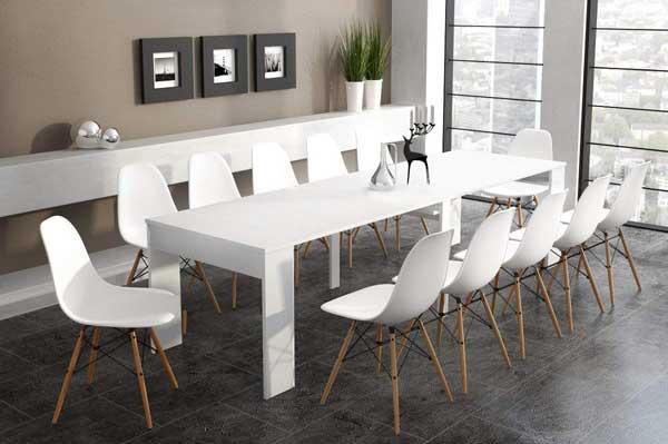 Table Extensible Rectangulaire Ma Table De Salle A Manger