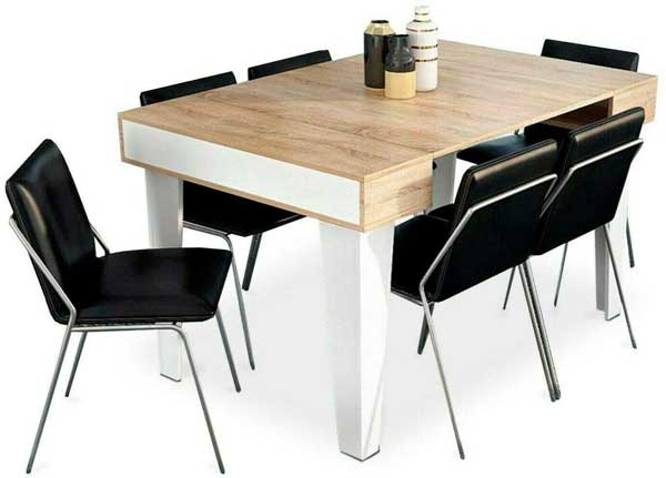 Table Console Extensible Ma Table De Salle A Manger