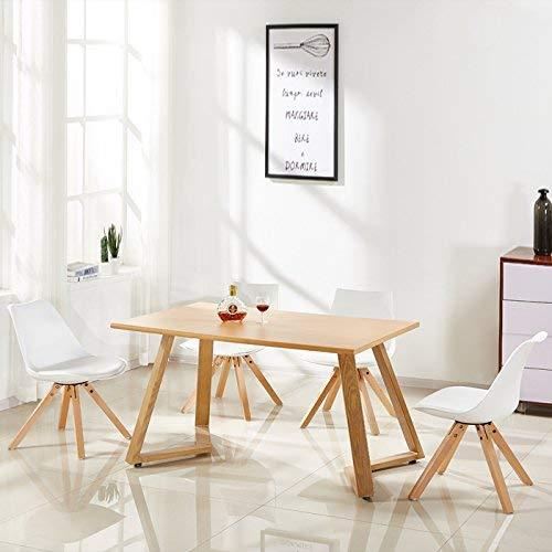 Table en bois style scandinave