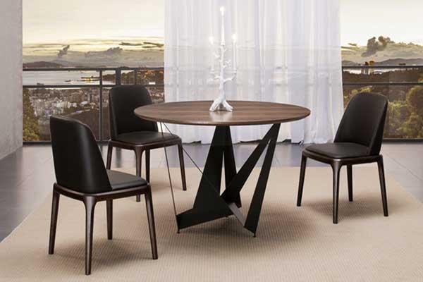 Table de salle à manger ronde 4 personnes