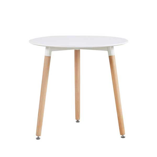 Table ronde scandinave 2 à 3 personnes