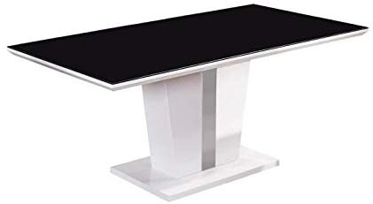 Table rectangulaire style contemporain