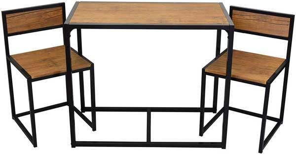 Ensemble table + 2 chaises