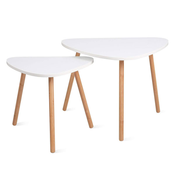 Tables gigognes style scandinave