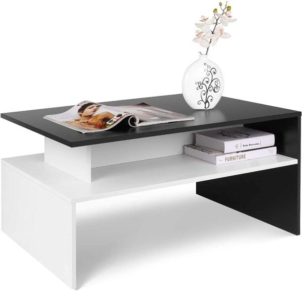 Table basse de salon au design élégant