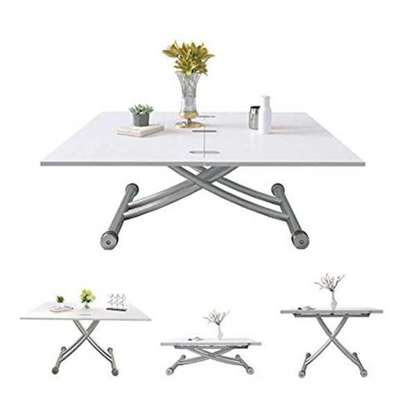 Table extensible réglable en hauteur