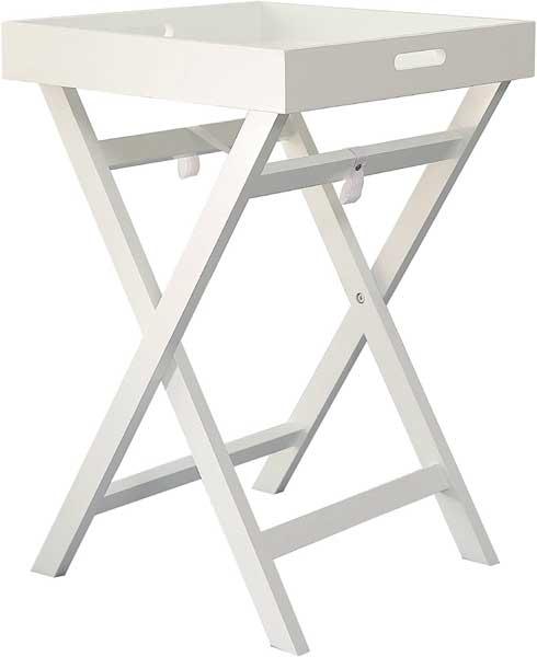 Petite table pliante avec plateau amovible