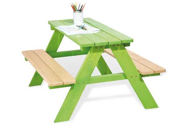 Table de jardin enfants