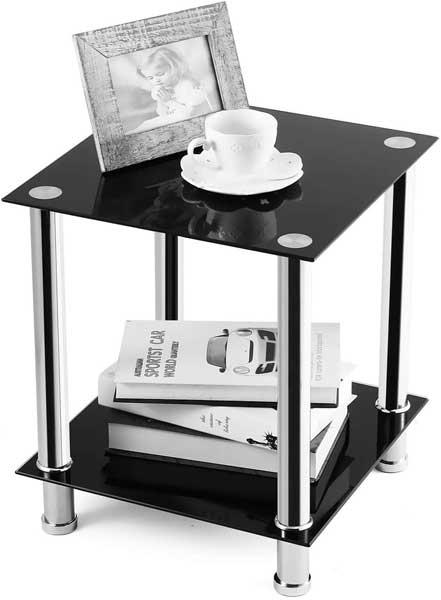 Table basse deux plateaux