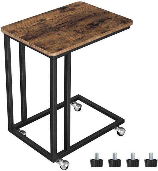 Table de chevet style industriel