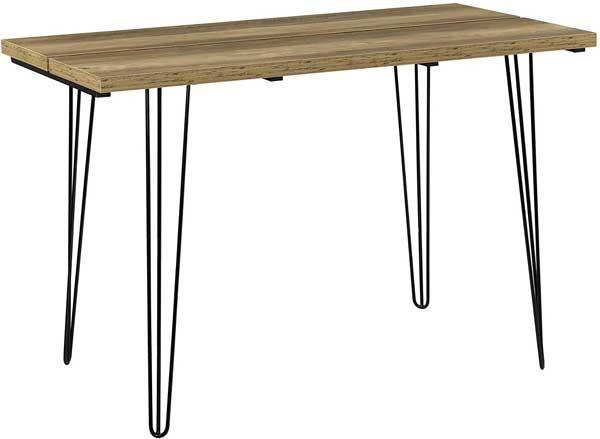 Table salle à manger plateau en bois