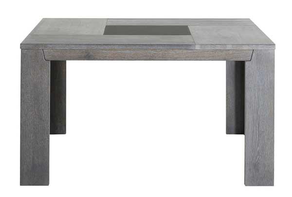 Table carré en bois 8 personnes